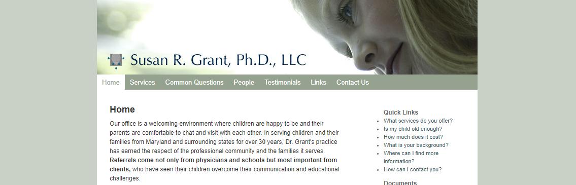 Dr. Susan Grant, PhD, LLC