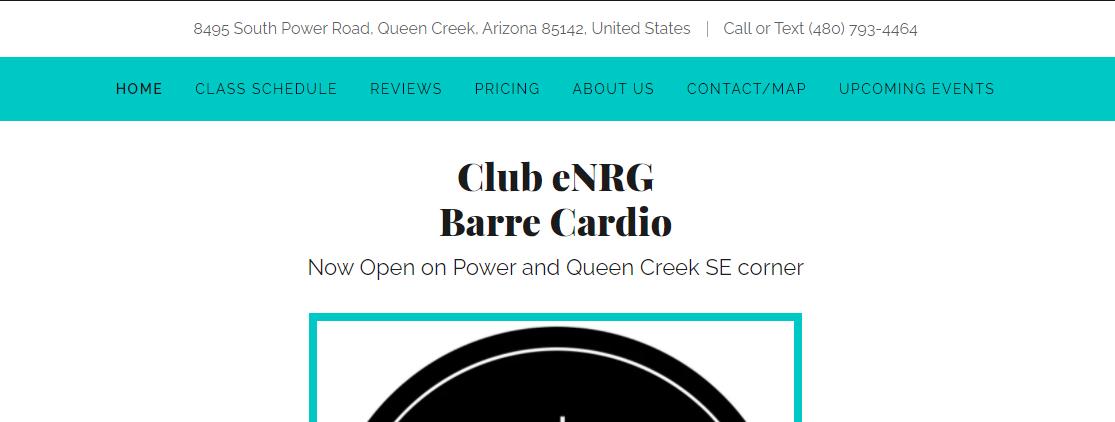 Club eNRG Pilates Studios in Mesa, AZ