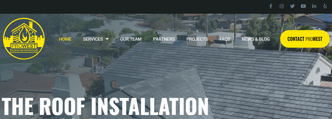 Prowest Roofing and Restoration