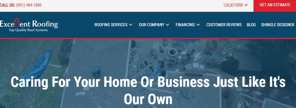 Excellent Roofing Roofing Contractors in Memphis, TN