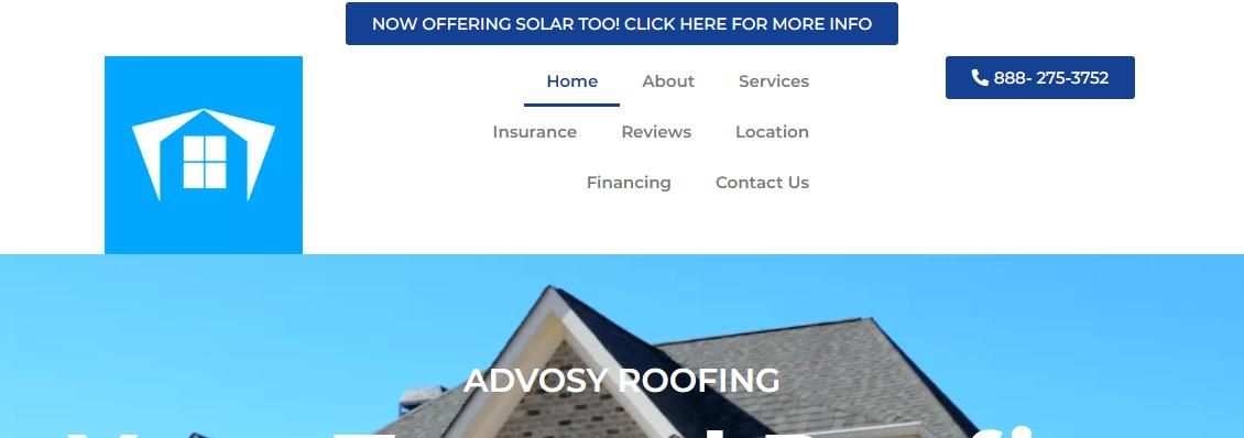 Advosy Roofing Contractor