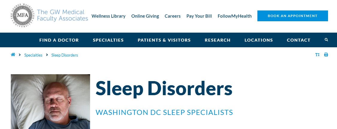 The Center for Sleep Disorders
