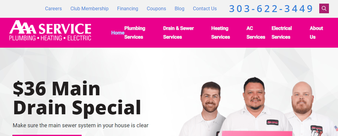 AAA Service Plumbing, Heating, and Electric