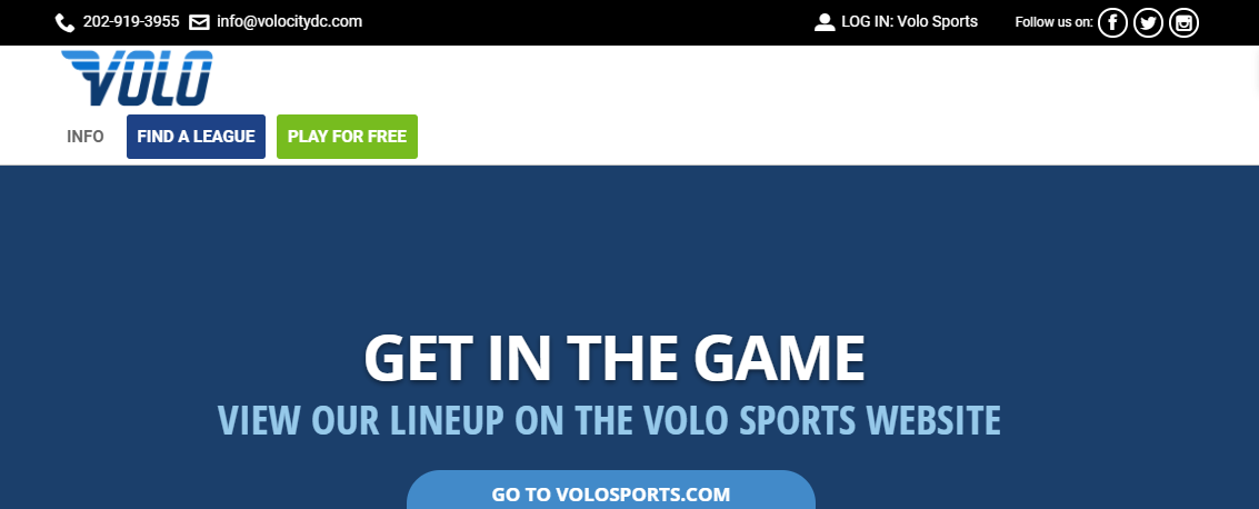 Volo City Social Sports and Events