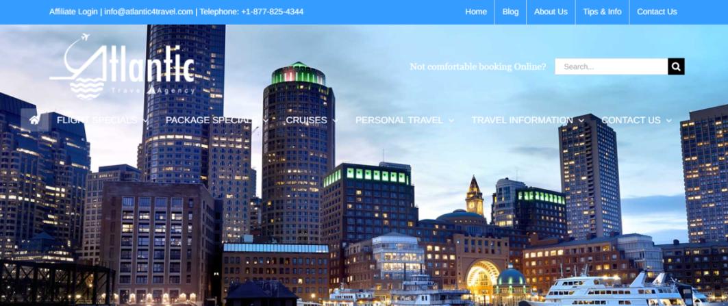 Atlantic Travel Agency in Boston