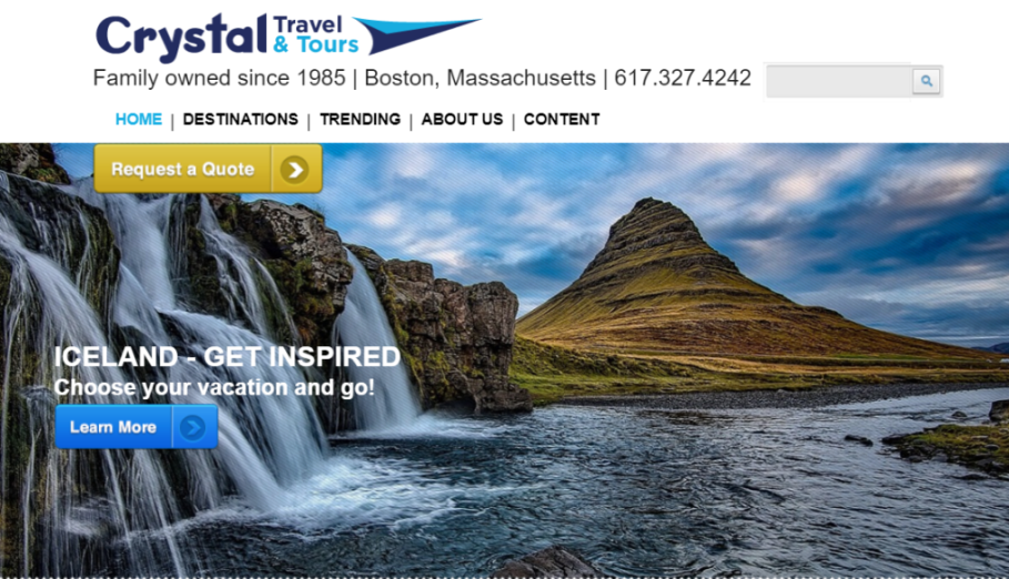 Crystal Travel and Tours in Boston