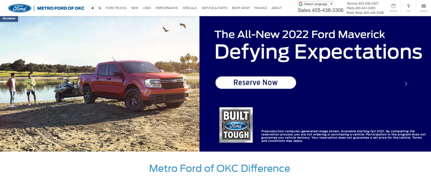 Metro Ford of OKC in Oklahoma City