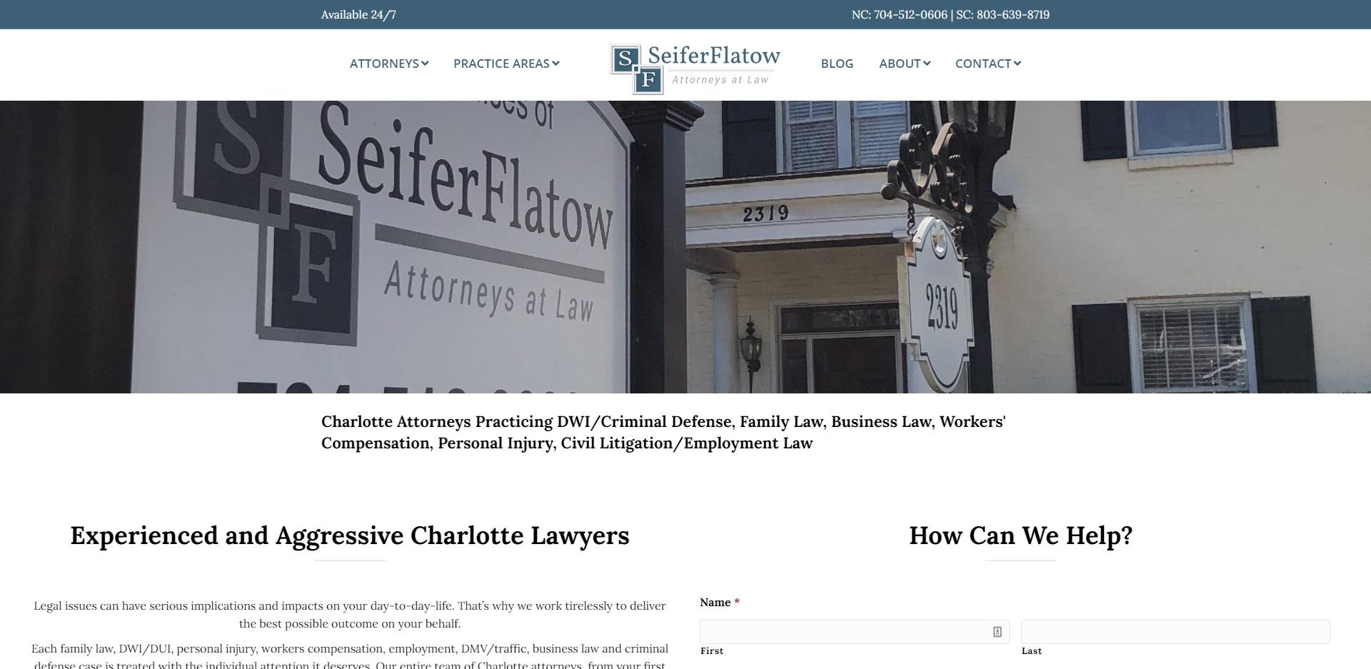 Charlotte, NC Best Unfair Dismissal Attorneys