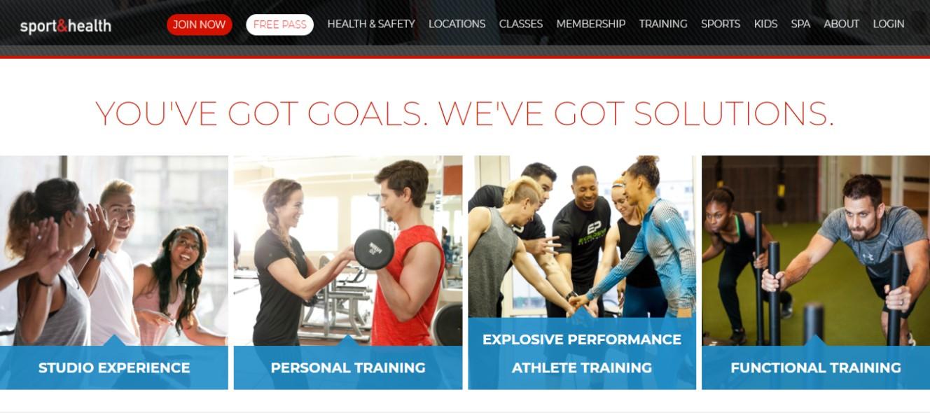 Sport and Health Gym in Washington