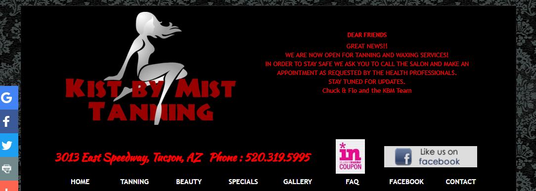 Kist By Mist Tanning