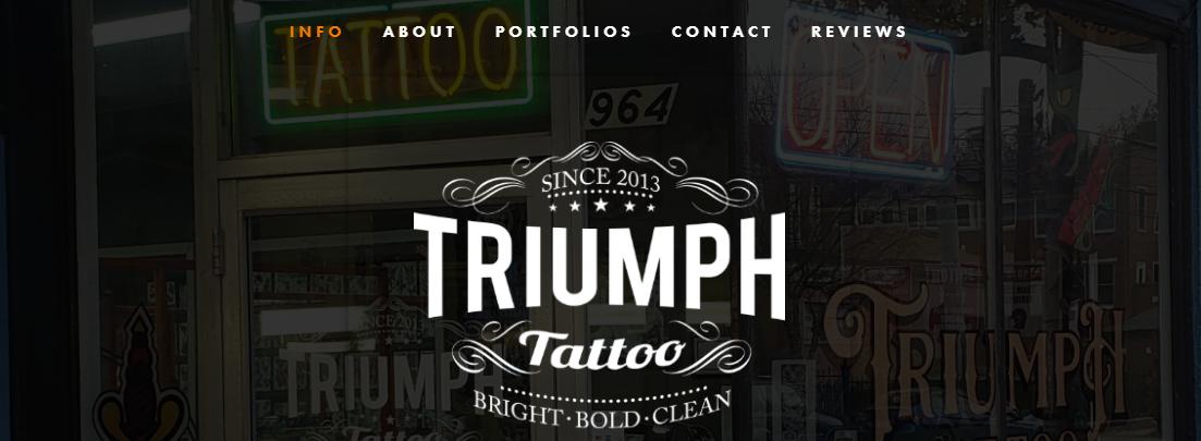 Triumph Tattoo