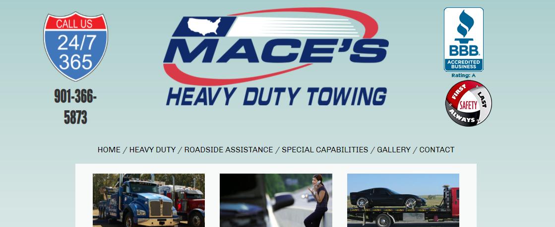 Mace's Heavy Duty Towing