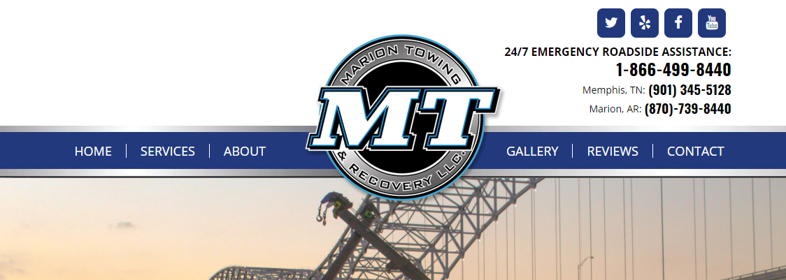 Marion Towing Towing Services in Memphis, TN