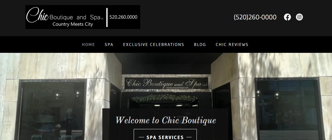 Chic Boutique and Spa