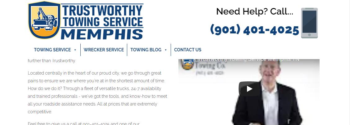 Trustworthy Towing Service