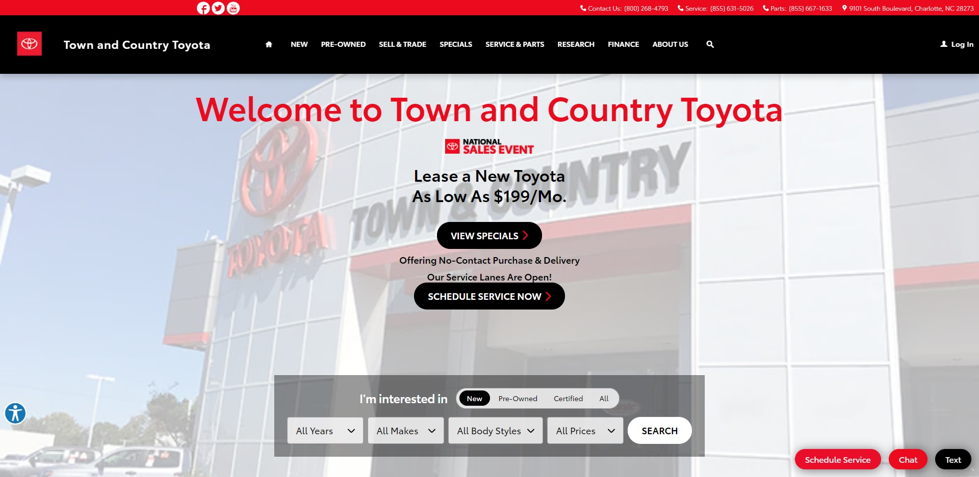 The Best Toyota Dealers in Charlotte, NC