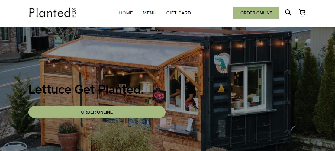 Planted PDX Vegetarian Restaurant