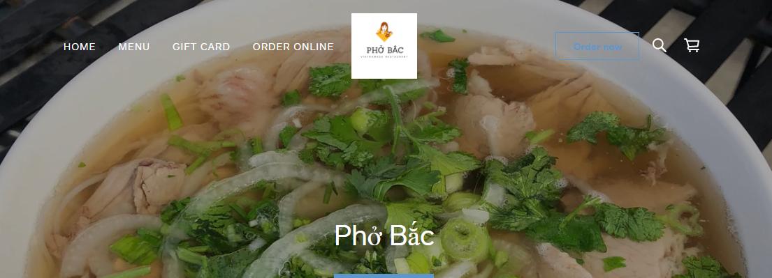Pho Bac Vietnamese Restaurants in Baltimore, MD