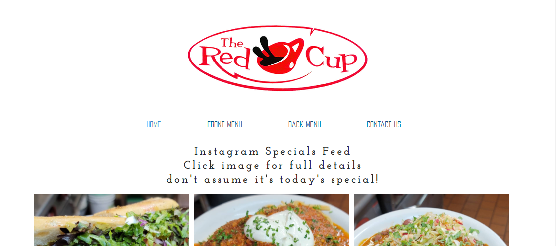 The Red Cup- Vegan Restaurant