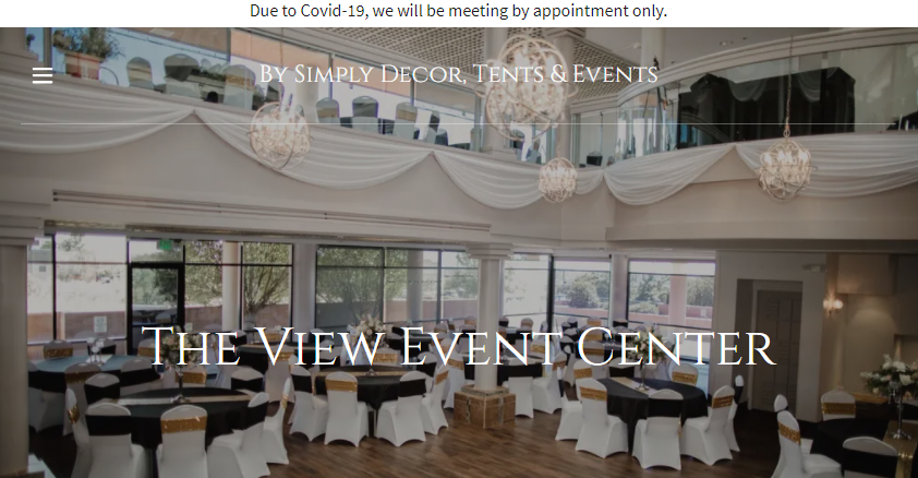 Simply Decor, Tents, & Events