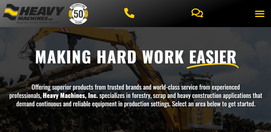 Comprehensive Heavy Machinery Dealers in Memphis