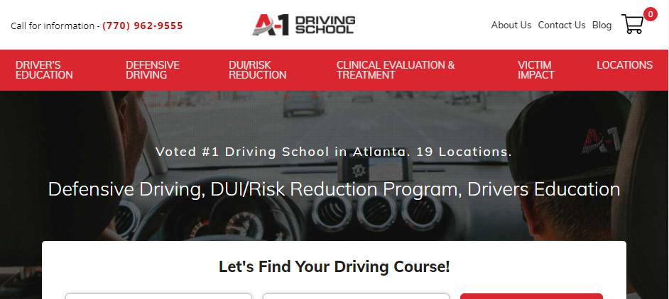 Dependable Driving Schools in Atlanta