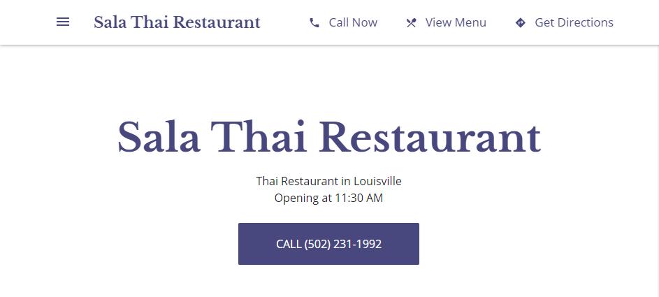 Splendid Thai Restaurants in Louisville