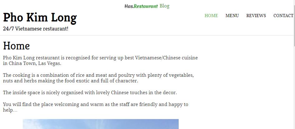 Splendid Vietnamese Restaurants in Las Vegas