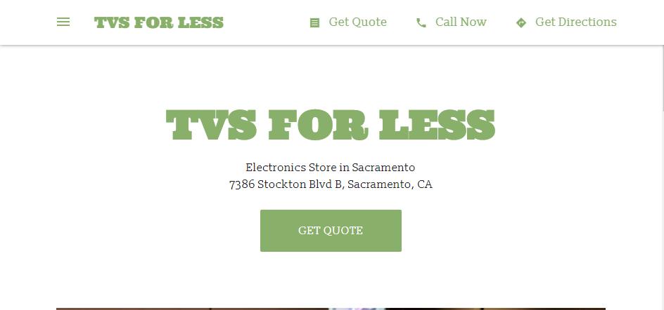 Great Electronic Shops in Sacramento