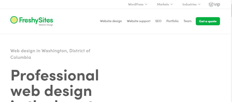 Adept Web Designers in Washington