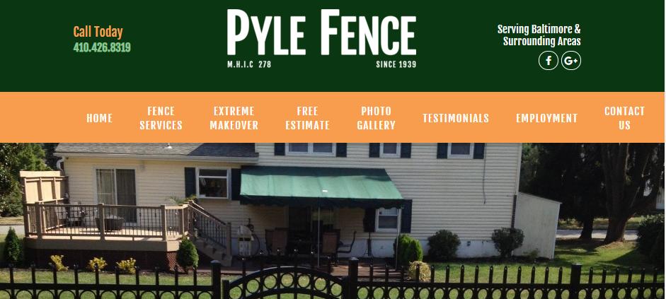Proficient Fencing Contractors in Baltimore