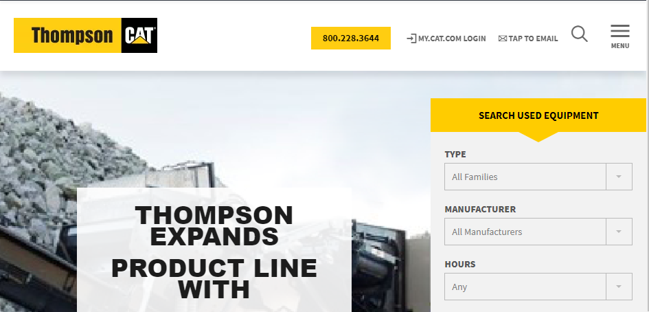 Great Heavy Machinery Dealers in Memphis
