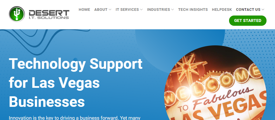 Reliable IT Support Services in Las Vegas