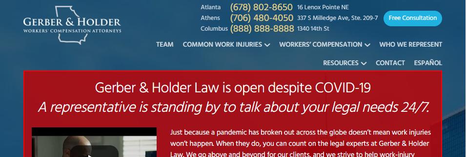 Proficient Compensation Attorneys in Atlanta