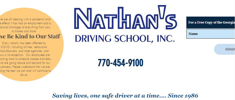 Comprehensive Driving Schools in Atlanta