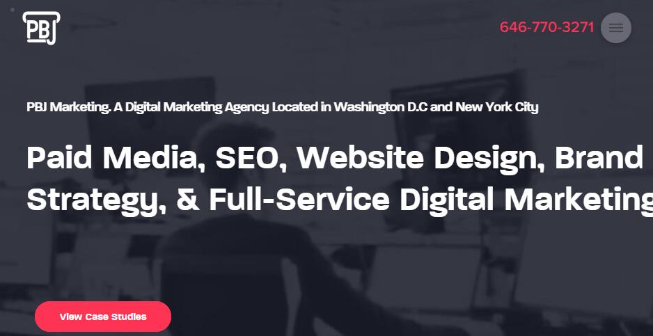 Exemplary Digital Marketers in Washington