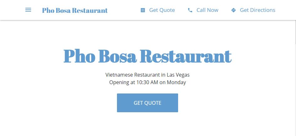 Tasty Vietnamese Restaurants in Las Vegas