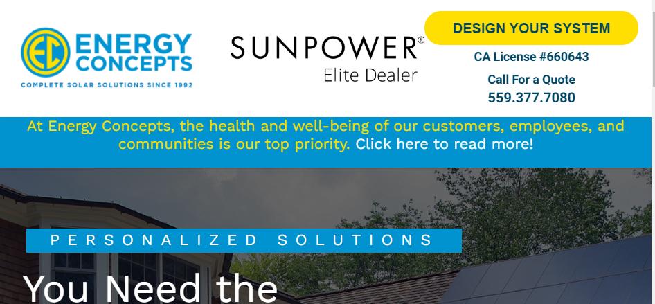 Affordable Solar Panels in Fresno