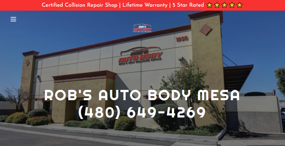 Skilled Auto Body Shops in Mesa