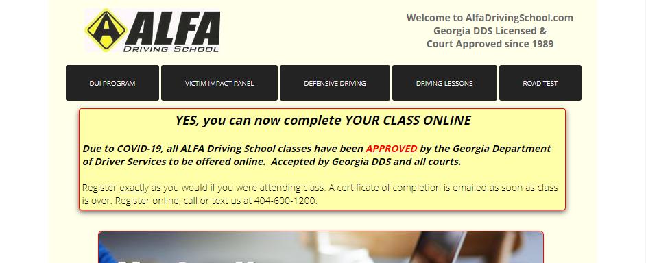 Reliable Driving Schools in Atlanta