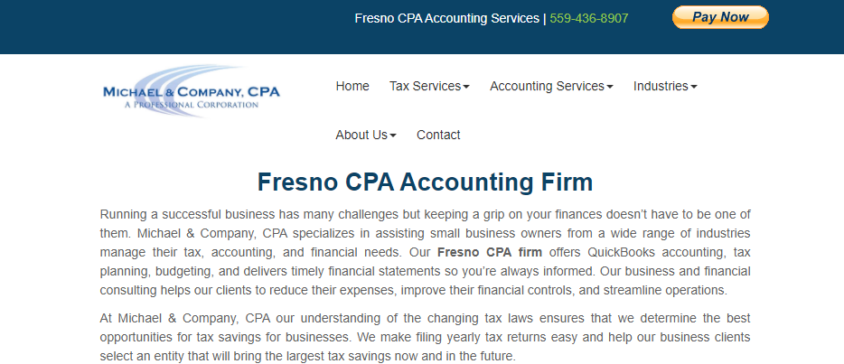 Reliable Accountants in Fresno
