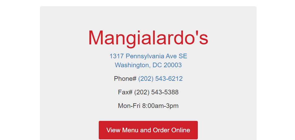 Known Sandwich Shops in Washington