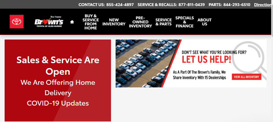 Dependable Toyota Dealers in Baltimore