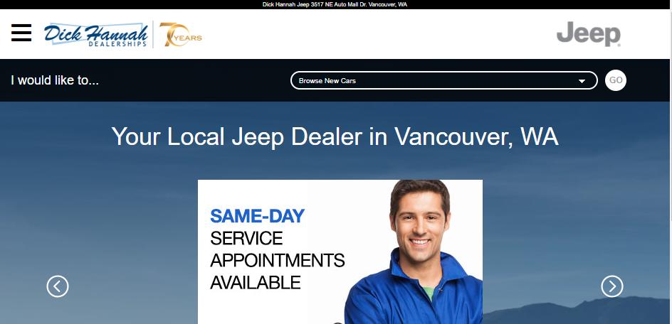 Popular Jeep Dealers in Portland