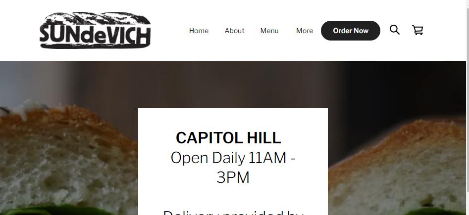 Tasty Sandwich Shops in Washington