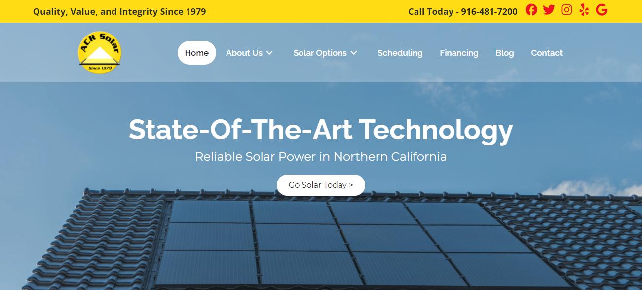 ACR Solar in Sacramento, CA
