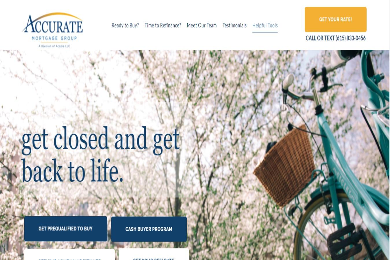 Accurate Mortgage Brokers in Nashville, TN