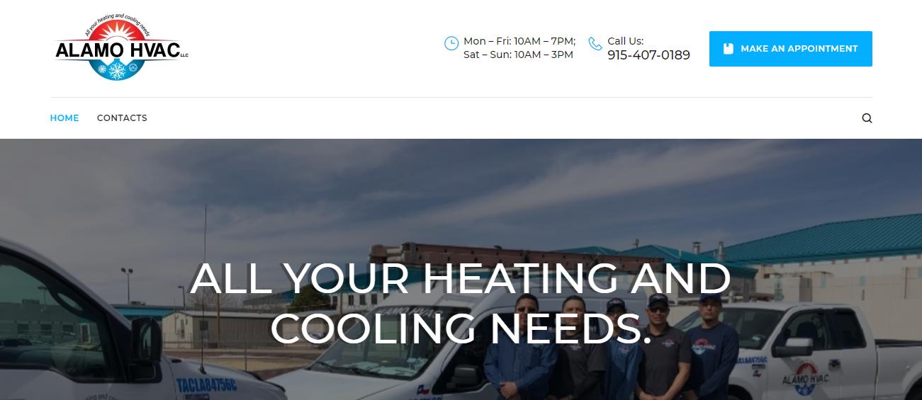 Alamo HVAC, LLC in El Paso, TX