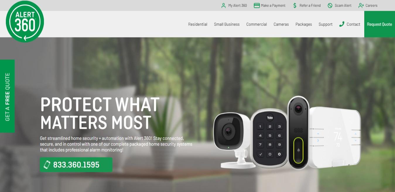 Alert360 Best Security Systems Supplier in Sacramento, CA