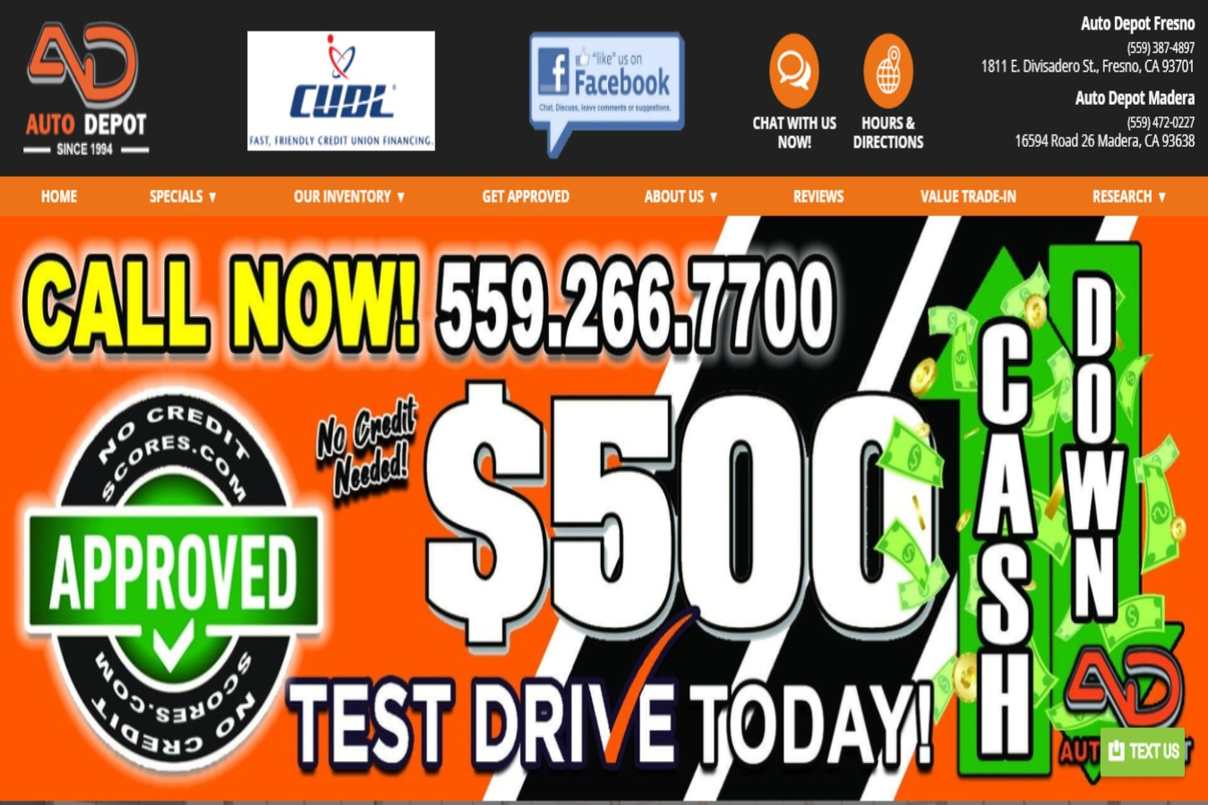 Top-rated Car Dealership in Fresno, CA